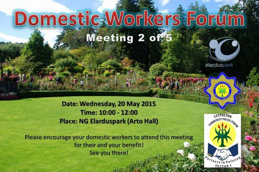 Domestic Workers Forum Meeting