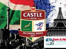 South Africa vs France (park & ride)