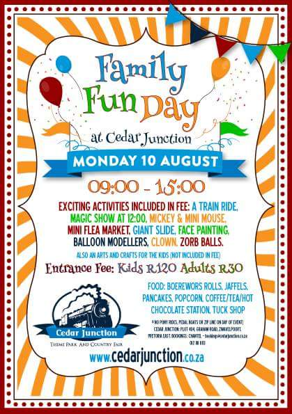 Family Fun Day - 10 August 2015