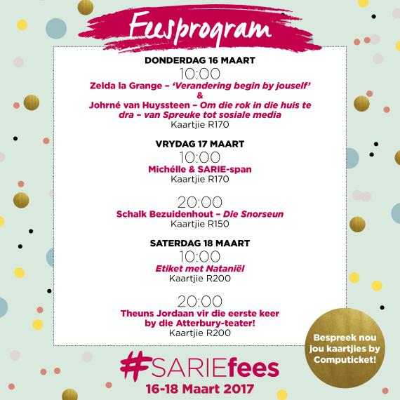 SARIE Fees