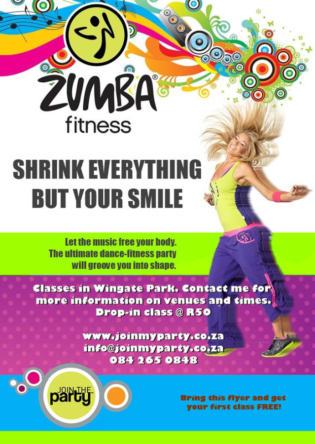 Zumba Fitness Klasse