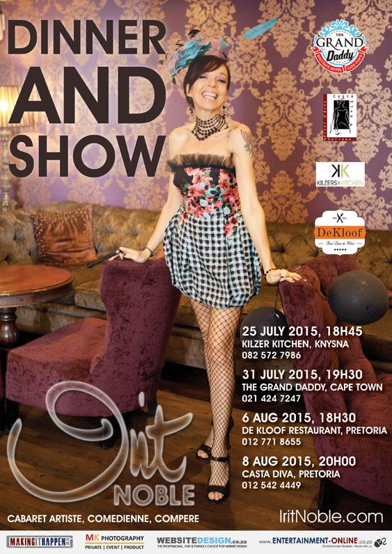 Irit Noble Dinner & Show - 6 August 2015