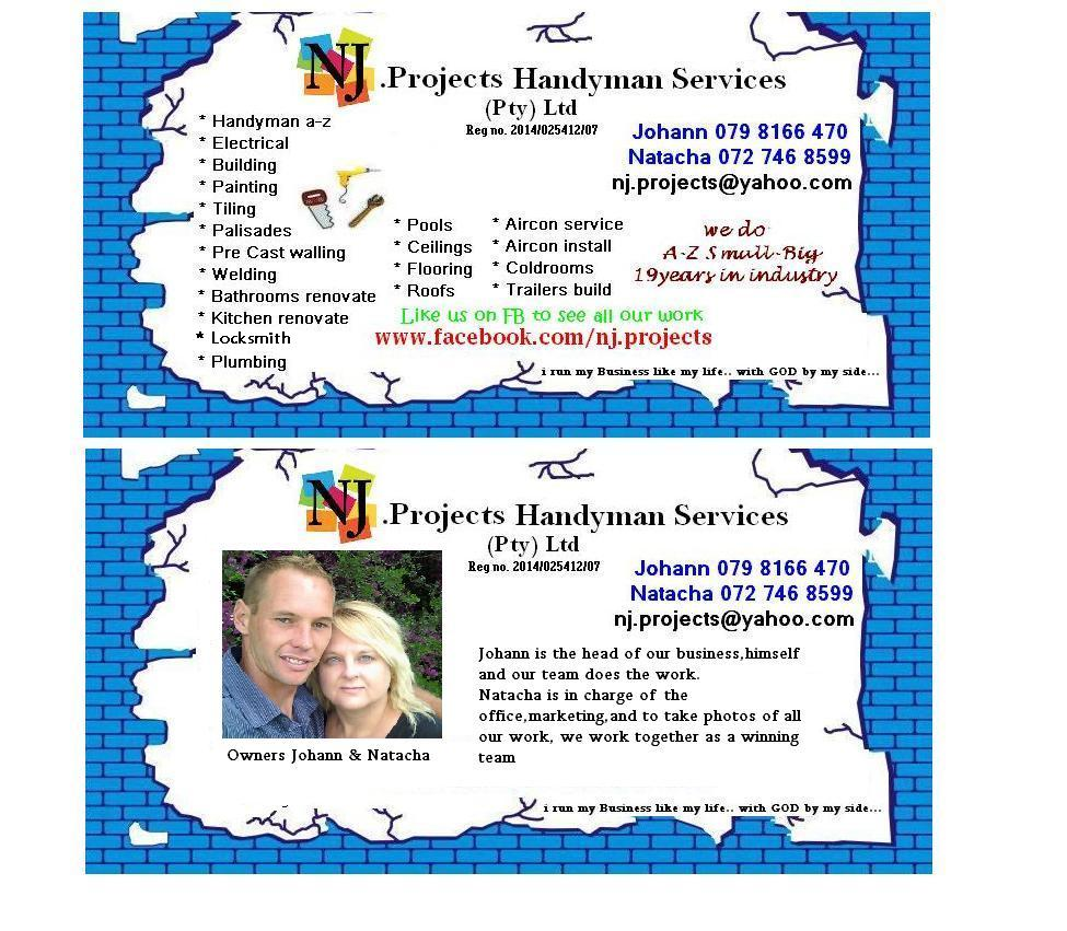 NJ.Projects Handyman services