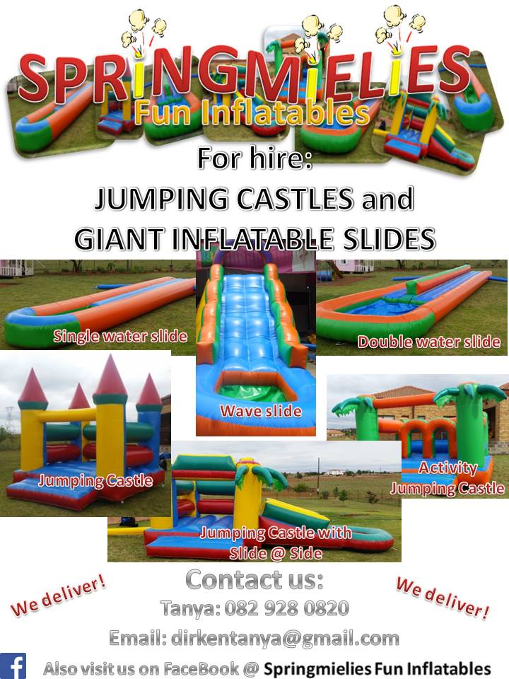 SPRiNGMiELiES Fun Inflatables