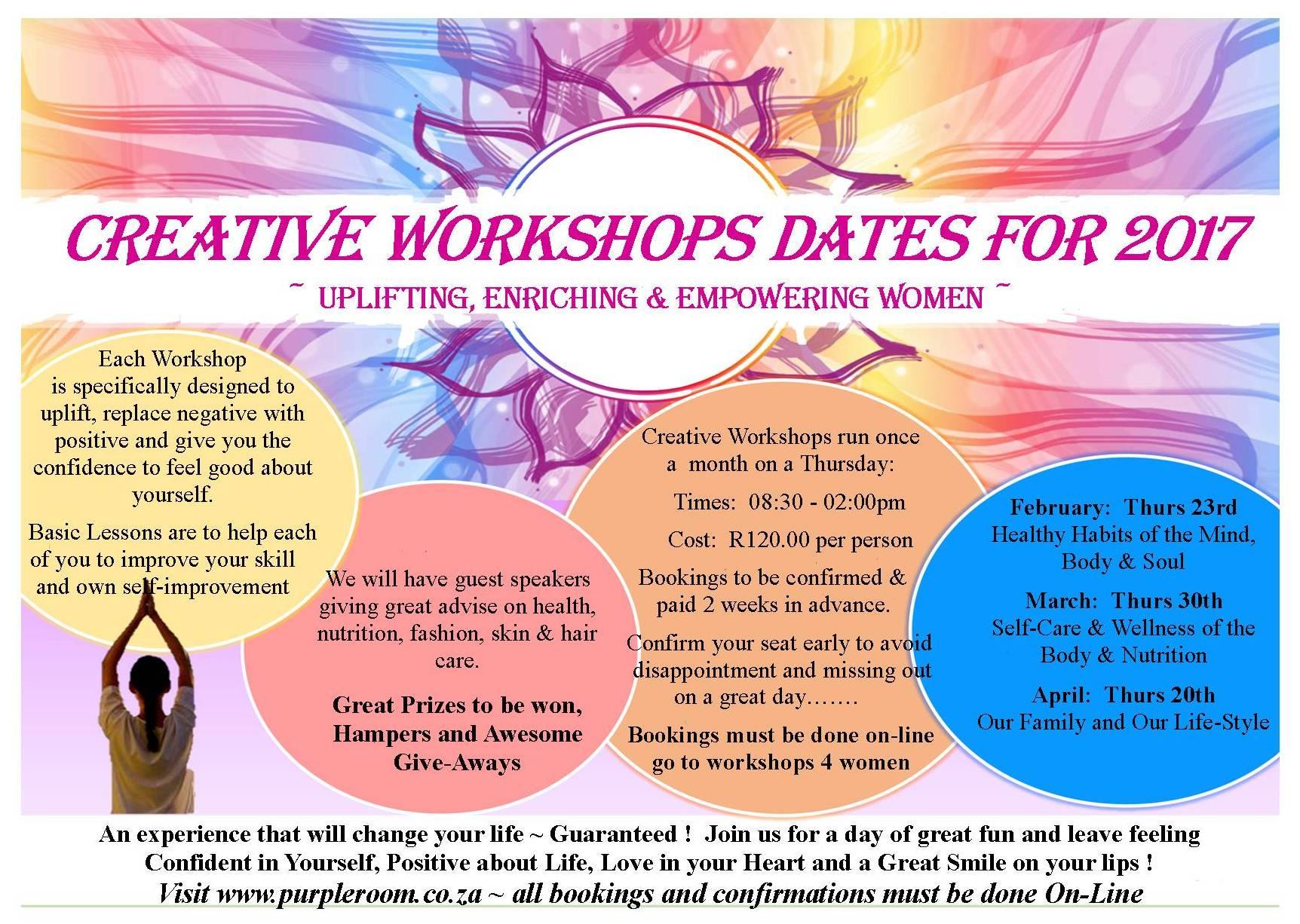 Creative Workshops 4 Women